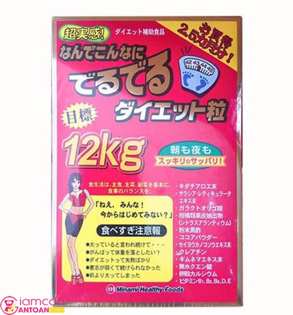 Viên giảm cân Minami Healthy Nhật Bản hiện đang bán rất chạy