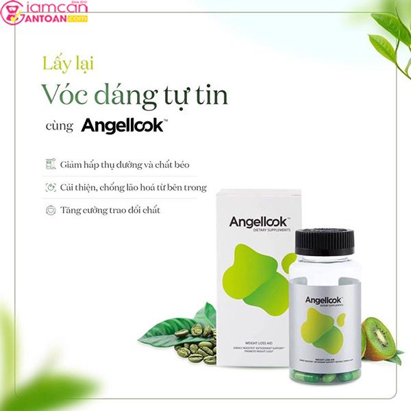 Viên Uống giảm cân Angellook là sản phẩm chính hãng và được xem là sự lựa chọn hàng đầu của chị em