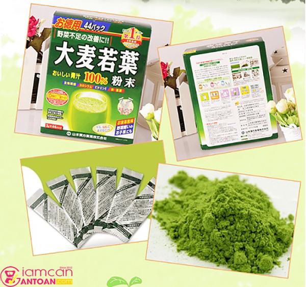 Bột Mầm Lúa Mạch Non này dành cho những ai ít ăn rau củ quả