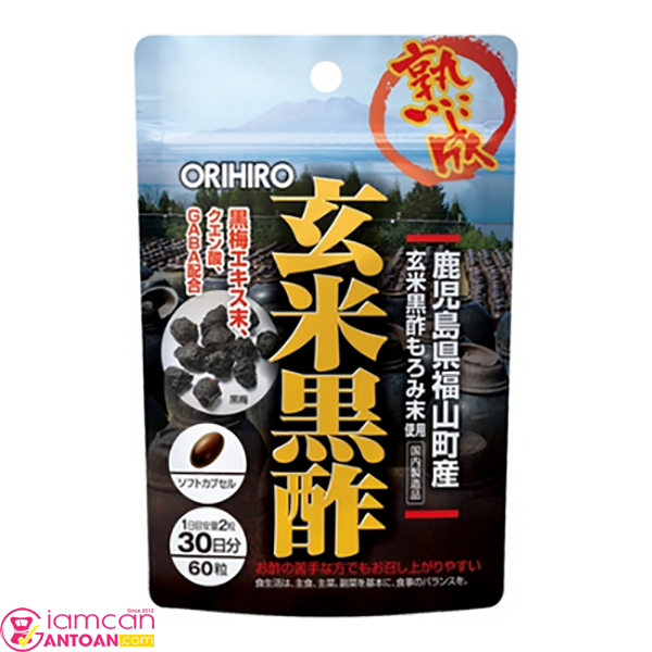 Dấm đen Orihiro uống mỗi ngày sẽ giúp giảm cân rõ rệt