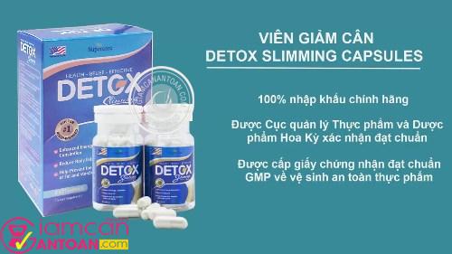 Sản phẩm Detox được ưa chuộng trên toàn thế giới