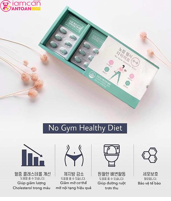 Hãy thử 1 liệu trình để xem hiệu quả giảm cân của No Gym Heathy Diet