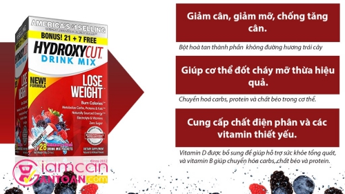Hydroxycut Drink Mix review