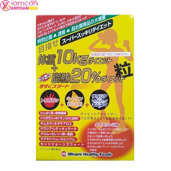 Minami Healthy Foods giúp giảm 10kg trong một trình