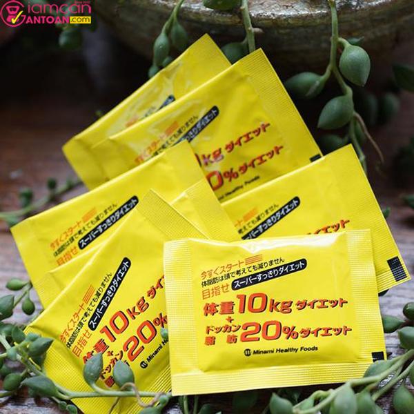 Minami Healthy Foods mỗi ngày uống 1 gói để đạt hiệu quả cao