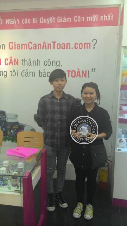 Anh Trí - Khách hàng mua viên giảm cân Slim Fit