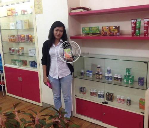 Chị Kim Anh - Khách hàng mua viên giảm cân Super Slim USA