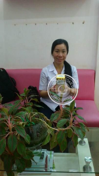 Chị Thanh Huệ - Khách hàng mua sản phẩm Nhau Thai Cừu Placenta 50000mg