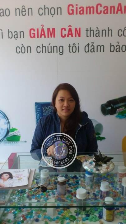 Chị Trang Phương - Khách hàng mua sản phẩm viên giảm cân Rich Slim