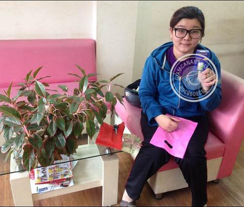 Chị Minh Hương - Khách hàng mua viên giảm cân Rich Slim