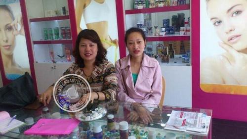 Chị Ngọc Trâm - Khách hàng mua sản phẩm Rich Slim