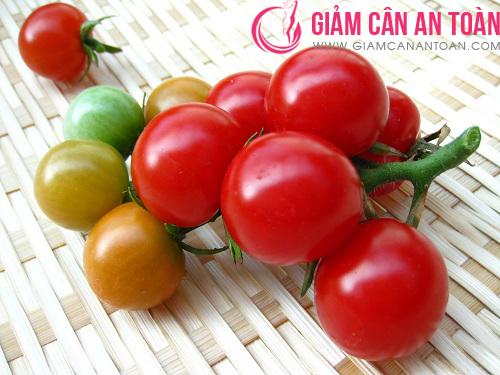 Cà chua rất tốt cho quá trình giảm béo bụng