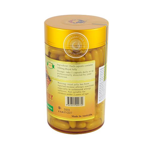 Sản phẩm được chiết xuất hoàn toàn từ tinh chất sữa ong chúa trong thiên nhiên