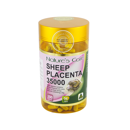 Sản phẩm nhau thai cừu Nature's Sheep Placenta 35000mg