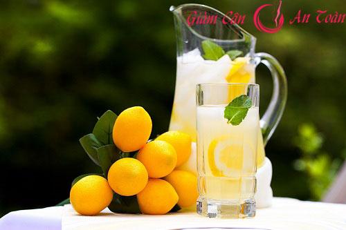 Bạn đã thử giảm cân bân bằng cách uống nước chanh pha loãng bao giờ chưa?