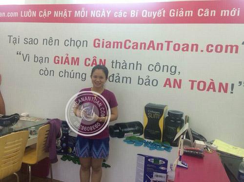 Bạn Thanh Thảo - Khách hàng mua viên giảm cân Rich Slim