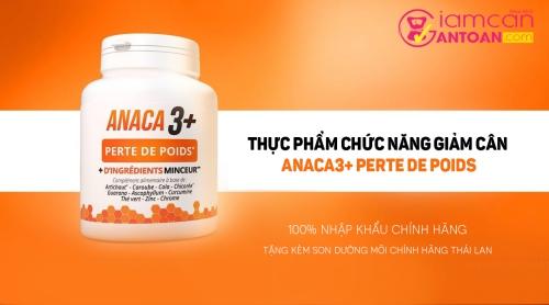 tác dụng của Anaca3+ Perte De Poids
