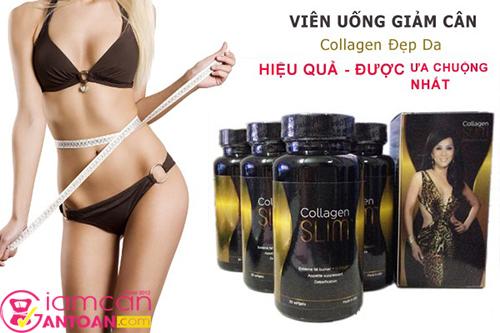 Collagen Slim USA Viên giảm cân hiệu quả của Kỳ Duyên House