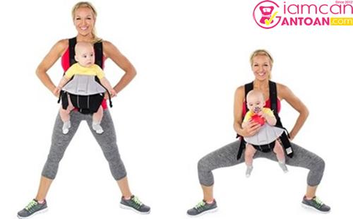 Động tác này giúp các mẹ giảm cân toàn thân