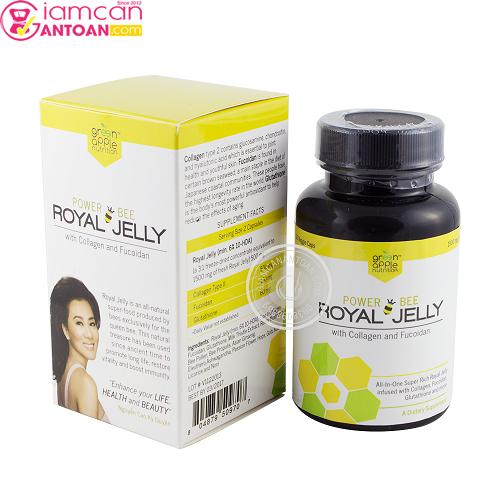Power Bee Royal Jelly giúp chống suy nhược cơ thể, giúp tăng cường sức đề kháng, chăm sóc sức khỏe.