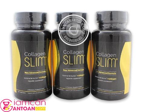 Collagen Slim bổ sung collagen trong suốt quá trình giảm cân.