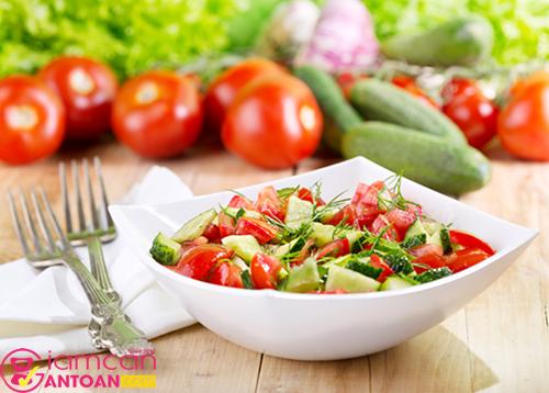Cà chua giàu dinh dưỡng nhưng chứa ít calo