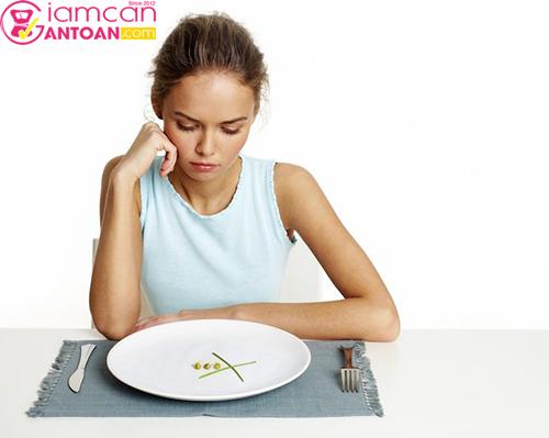 Tuyệt đối không được nhịn đói để giảm cân