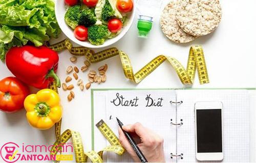 Cần kiểm soát chế độ ăn hằng ngày bằng ghi nhật ký