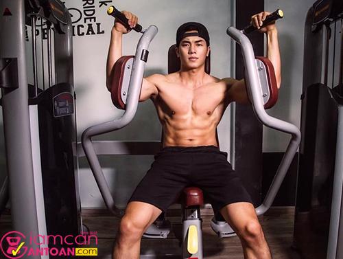 Hãy chú ý nhịp thở trong quá trình tập gym nhé