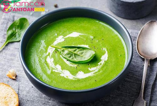 Món súp này rất bổ dưỡng lại dễ tiêu hóa tốt cho quá trình ăn kiêng
