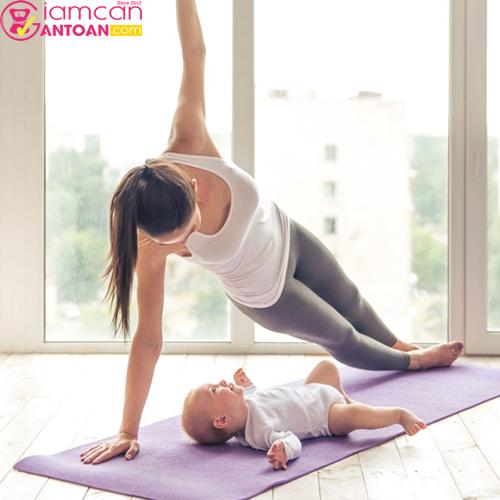 Chọn cho mình hình thức vận động sau khi sinh nhé