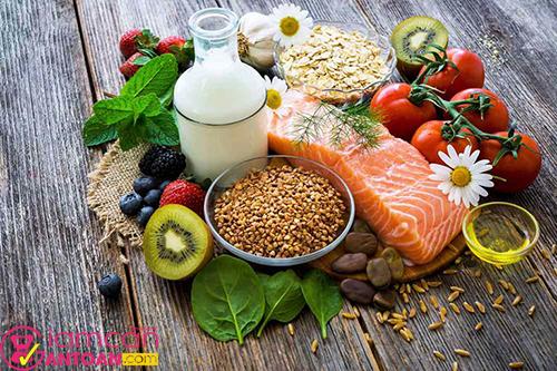 Chế độ ăn cũng đóng vai trò rất lớn trong quá trình giảm béo