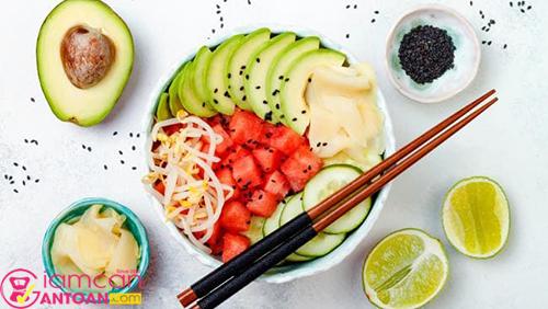 Tốt nhất hãy lựa chọn kỹ lưỡng thực phẩm cho mỗi bữa ăn