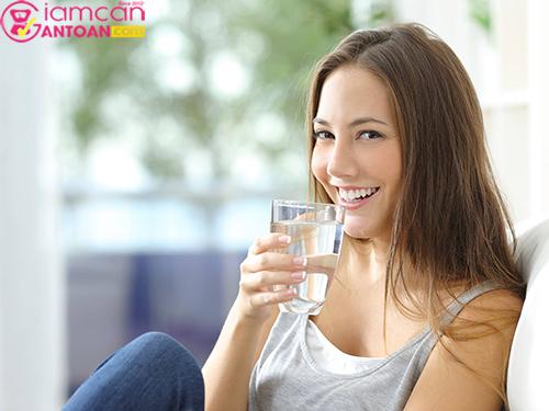 Uống nước lọc giúp thanh lọc cơ thể