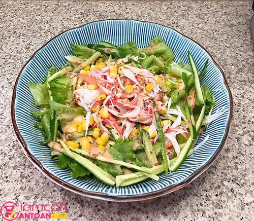 Salad là món yêu cô cùng yêu thích của Tăng Thanh Hà