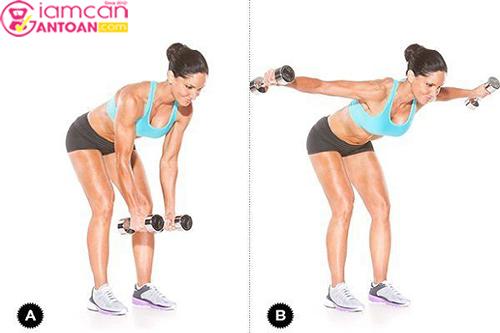 Bài tập này giúp cơ bụng và cánh tay trở nên săn chắc