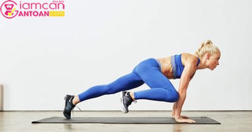 Bài tập giúp giảm cân nhanh chóng hơn, đốt mỡ phần cơ bắp