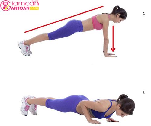Động tác này giúp giảm cân toàn thân