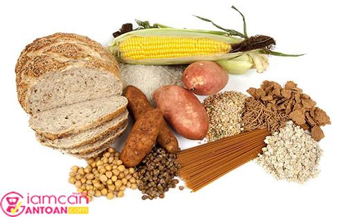 Hãy hạn chế các thức ăn giàu tinh bột