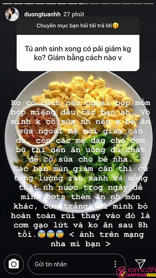 Rau xanh rất tốt cho quá trình giảm cân