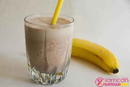 Thành phẩm của nước sinh tố trái cây giúp giảm cân