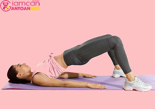 Bài tập này giúp giảm béo bụng và mông