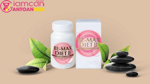 Viên uống hỗ trợ giảm cân Be-Max Diet II 90 viên2