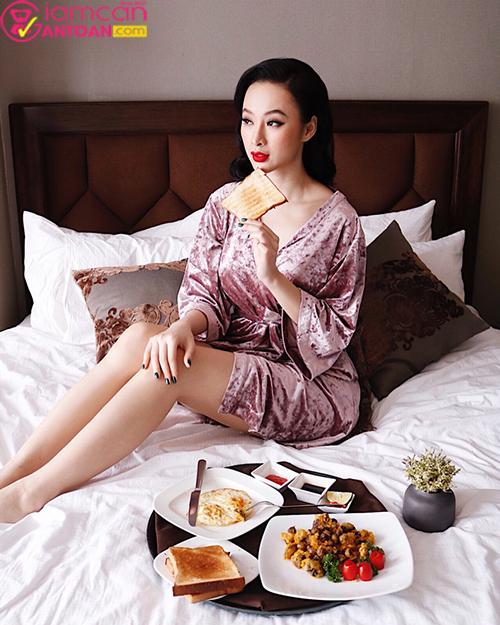 Angela Phương Trinh bật mí phương pháp giữ dáng và giảm cân nhanh