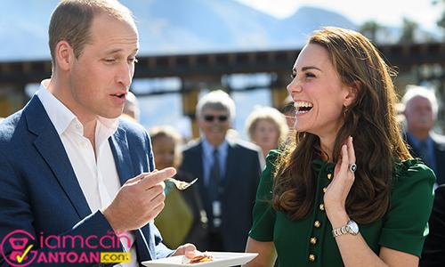 Cách công nương Anh Kate Middleton chia sẻ bí quyết giảm cân nhanh sau sinh