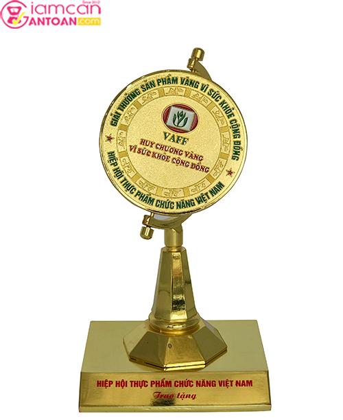 Safety FAT Burner của Giảm Cân An Toàn nhận giải thưởng Sản phẩm vàng vì sức khỏe cộng đồng2