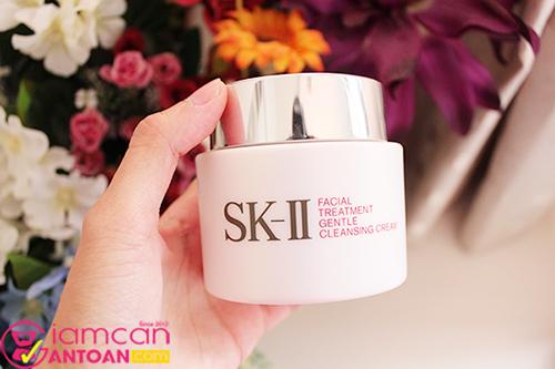 Set bộ dưỡng da chống lão hoá SK-II Full Line dành cho da thường xuyên makeup