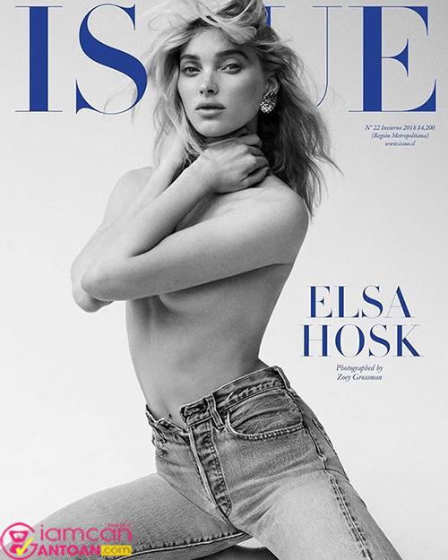Thiên thần Elsa Hosk bật mí bí quyết giữ dáng và giảm cân hoàn hảo6