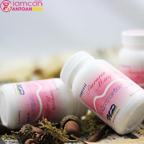 Viên Uống Nở Ngực Pueraria Mirifica Thái Lan6