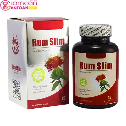 Viên Giảm Cân Rum Slim USA4